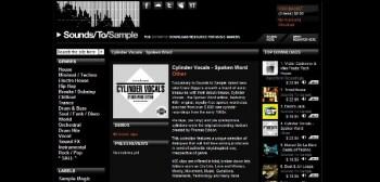 Crate Diggers Cylinder Vocal samples