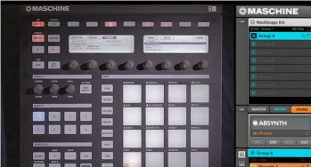 NI Maschine 1.7 integration with Komplet 8 sneak peak