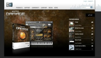 Heavyocity DAMAGE from Native Instruments review