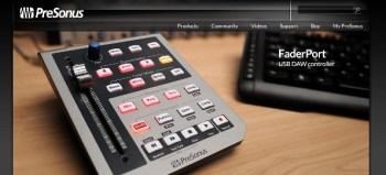 Presonus Faderport DAW controller review