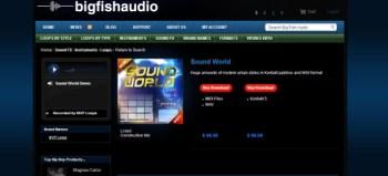 Big Fish Friday: MVP Loops Sound World VLX library
