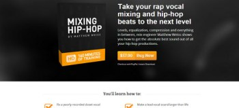 Review of the Mixing Hip Hop course by Matthew Weiss