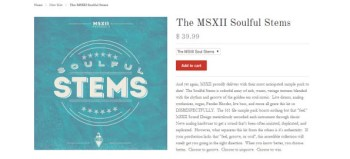 MSX Audio Soulful Stems sample library review