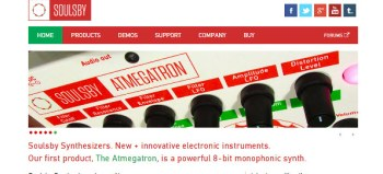 Soulsby Atmegatron 8-bit hackable synthesizer review