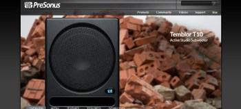 Presonus Temblor T10 Active Studio Subwoofer review