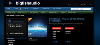 Big Fish Audio Prometheus library review