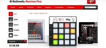 Review: IK Multimedia iRig Pads Portable Pad Controller