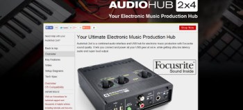 Review: Novation Audiohub 2×4 Audio Interface and USB Hub