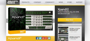 Review: AIR Music Xpand!2 Workstation VST