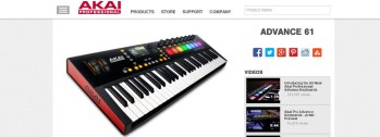 Review: AKAI Advance 61 Keyboard Controller