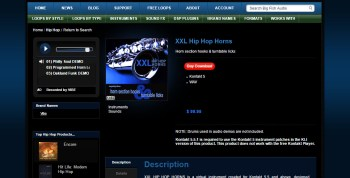 Product Demo: VIBE XXL Hip Hop Horns