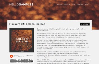 Product Demo: HelloSamples Flavours #1- Golden Hip Hop Library