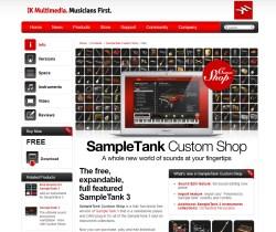 Friday Freebie: IK Multimedia SampleTank Custom Shop
