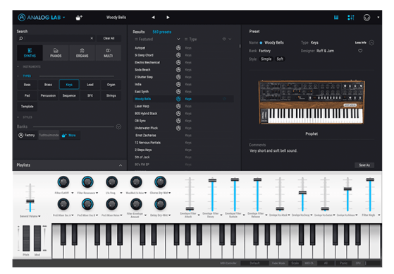 Checking Out Arturia Analog Lab 3 With Keylab Essential 49