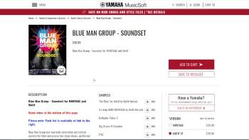 Yamaha Montage: Blue Man Group Soundset Demo