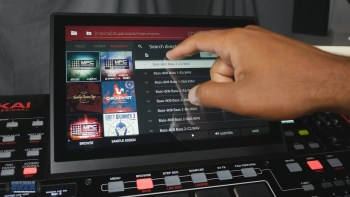 Akai MPC vs. NI Maschine – Browser & Library Access