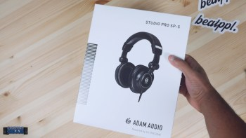 Unboxing the Adam Audio Studio Professional SP-5 Headphones