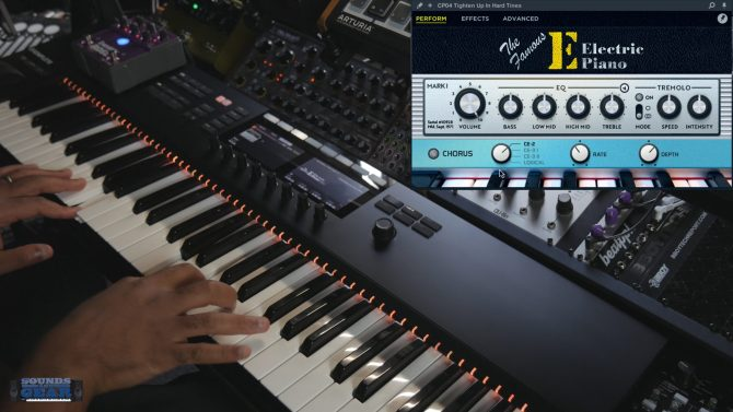 """Checking Out the """"Famous E"""" Electric Piano from Orange Tree Samples"""