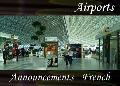 SoundScenes - Atmo-Airport - Announcements, French