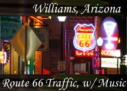 Route 66 Traffic with Music