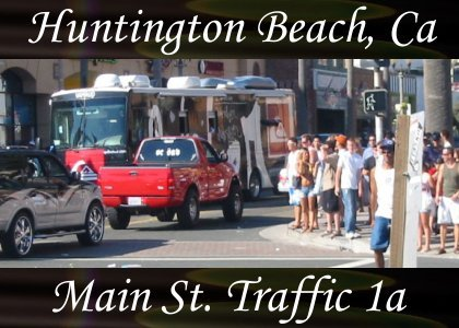 SoundScenes - Atmo-California - Huntington Beach, Main Street Traffic 1a