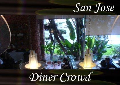 SoundScenes - Atmo-California - San Jose, Flame Grill Diner Crowd
