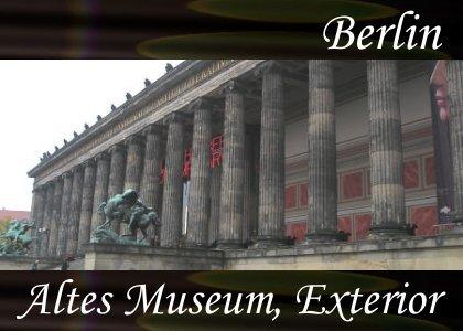 SoundScenes - Atmo-Germany - Berlin, Altes Museum, Exterior