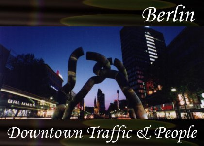 Downtown Traffic and People