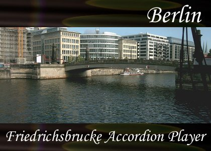 SoundScenes - Atmo-Germany - Berlin, Friedrichsbrucke Accordion Player