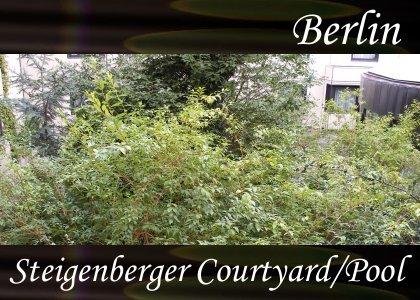 SoundScenes - Atmo-Germany - Berlin, Steigenberger, Courtyard and Pool