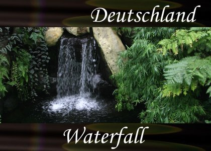 SoundScenes - Atmo-Germany - Deutschland, Waterfall