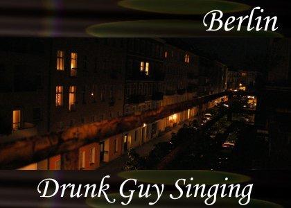 SoundScenes - Atmo-Germany - Man Singing
