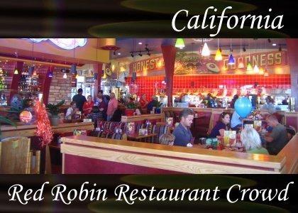 SoundScenes - Atmo-Locale - California, Red Robin Crowd