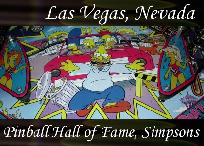 SoundScenes - Atmo-Nevada - Las Vegas, Pinball Hall of Fame, Simpsons