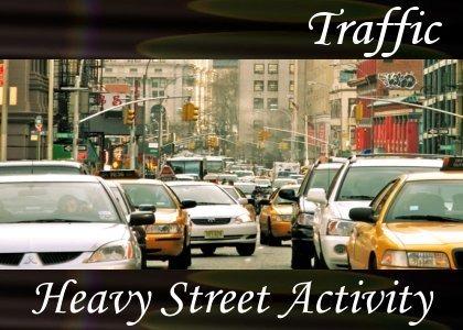 Heavy Street Activity