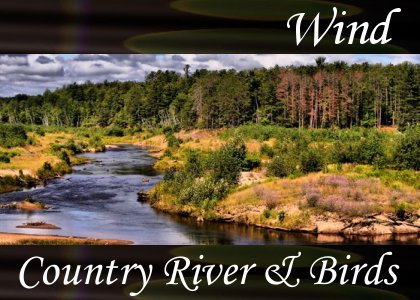 SoundScenes - Atmo-Wind - Country River and Birds