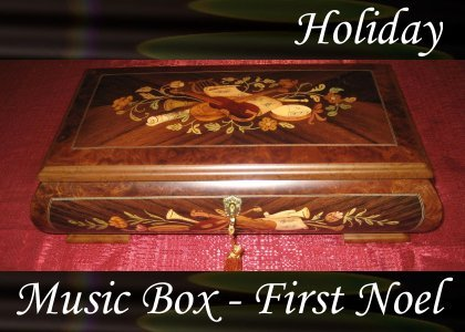 Music Box, First Noel 1 1:00