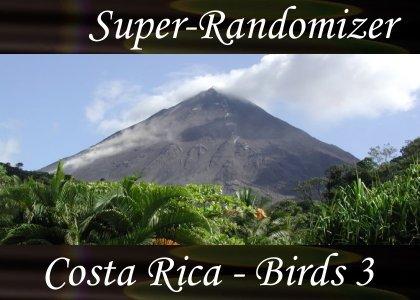 Costa Rica – Birds Set #3 (40 Sounds)