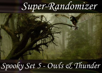 Spooky Set 05 – Owls and Thunder (30 Sounds)