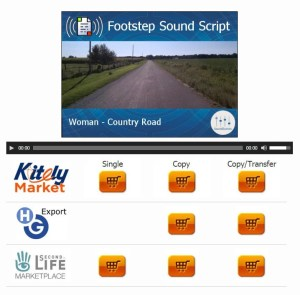 km - footstep scripts in catalog