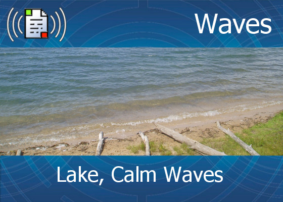 km-atmo-waves – lake, calm waves