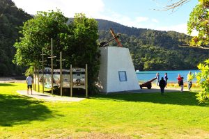 Historic Meretoto Ship Cove & Wine Tour with Sounds Connection