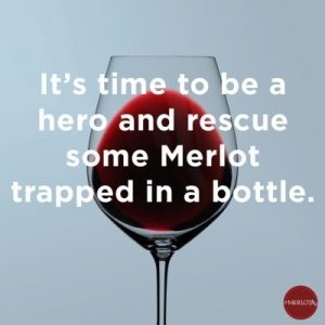 Be a hero and save Merlot with Sounds Connection