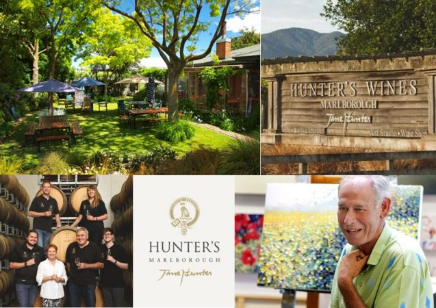 Visit Hunter's Wines with Sounds Connection