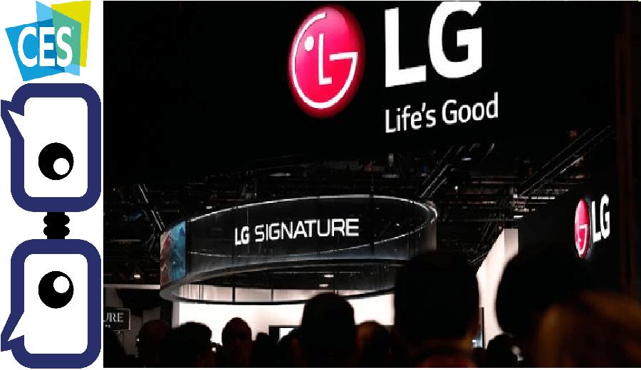 LG CES Pre Show