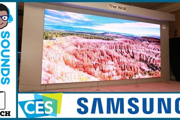 Samsung TVs CES