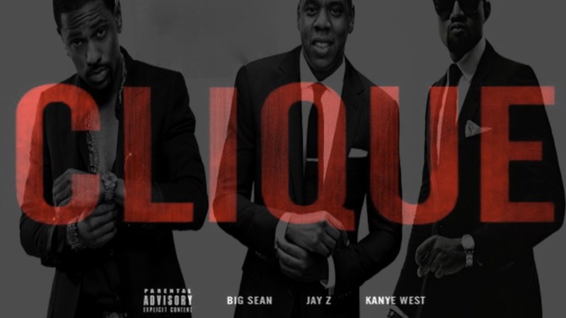 Marcus Drumming Poet Analyses Kanye West & Friends' «CLIQUE'