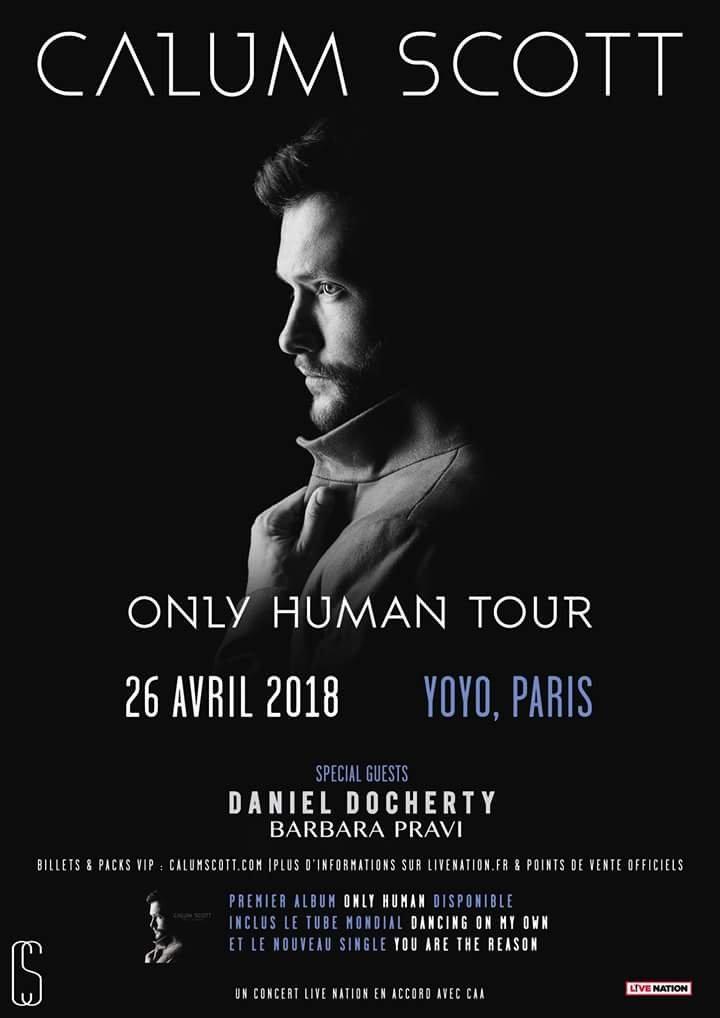 Calum Scott – En Concert A Paris Avec Barbara Pravi (Interview)