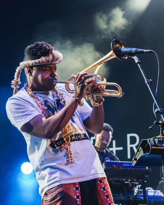 chrisitan scott trumpet - live - sounds so beautiful - jazz a vienne
