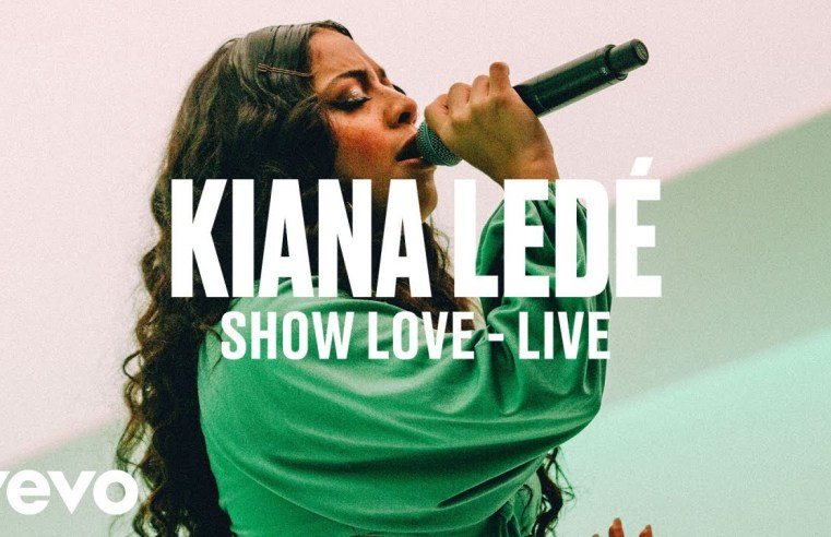 Kiana Lede Show Love live Sounds So Beautiful